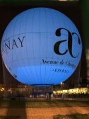 Ballon captif à Epernay